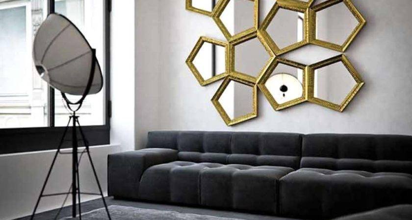 Wall Mirrors Living Room Ifresh Design
