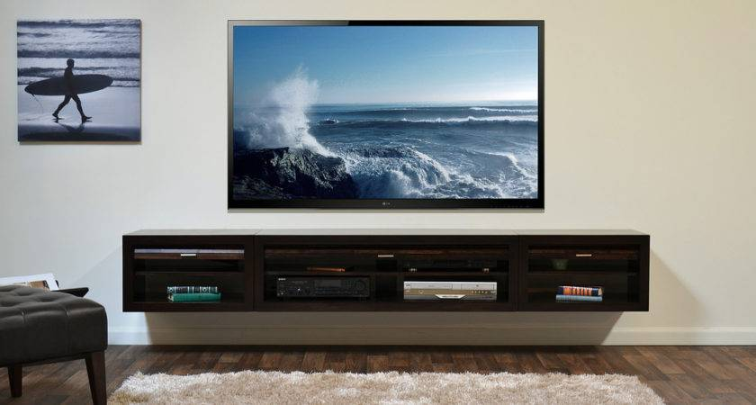 Wall Mount Console Eco Geo Entertainment Center