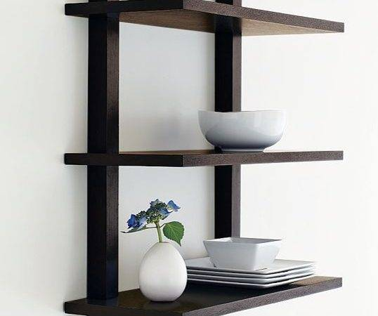 Wall Mounted Bookcase Modern Bookcases West Elm