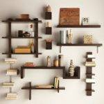 Wall Mounted Bookcase Spine Shelf Motiq