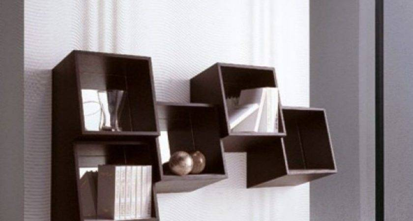 Wall Mounted Contemporary Shelving Shelves