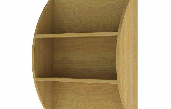 Wall Mounted Curved Bookcase Bedrooms Reinforced Beds