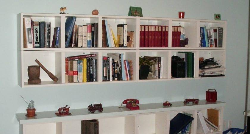Wall Shelves Books Design Homesfeed