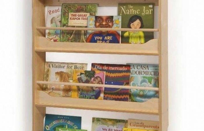 Wall Shelves Hanging Book Mounted