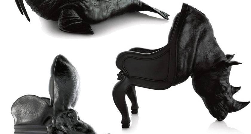 Walrus Octopus Rhino Chairs Maximo Rierocelebrity