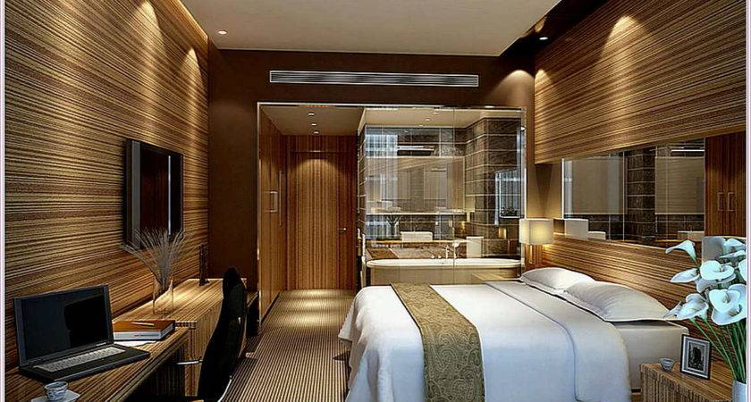 Warm Wall Lamp Hotel Inspired Bedroom Designs White