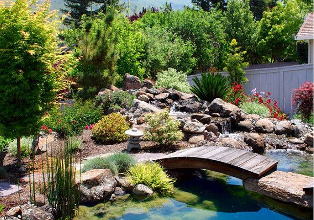 Water Features Japanese Style Gardens Home Bunch
