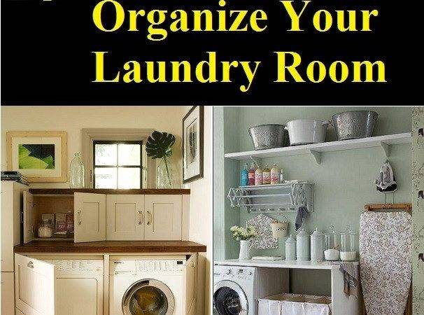 Ways Organize Your Laundry Room Home Life Tips