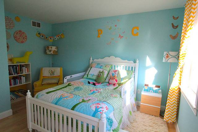 Wee Little Big Girl Room