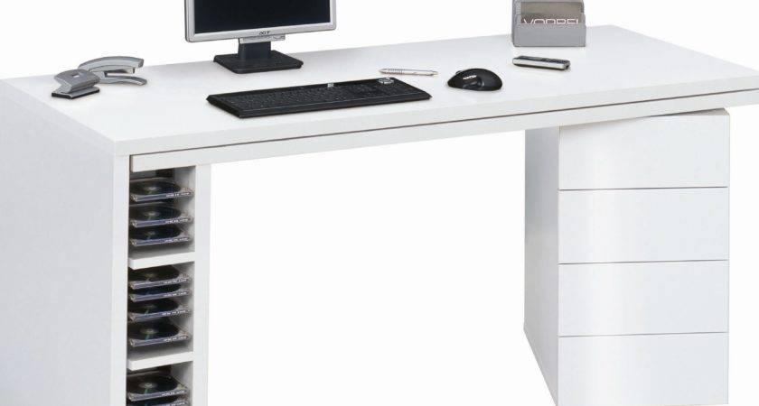 White Computer Desk Suits Your Home Office Furniture