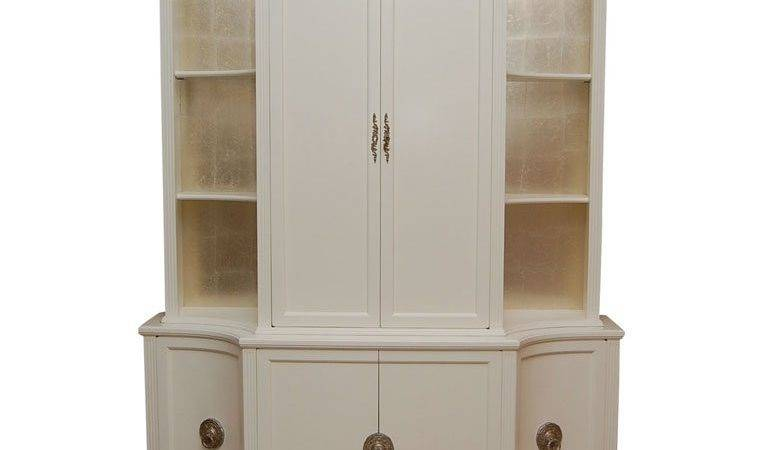 White Lacquer Cabinet Grosfeld House Stdibs