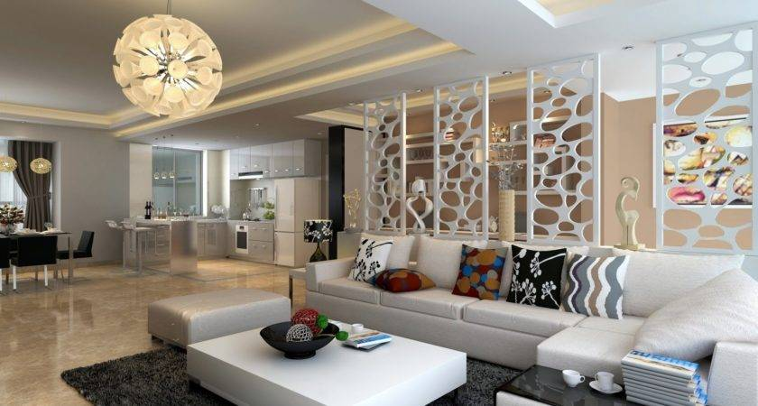White Living Room Furniture Decorating Ideas Modern