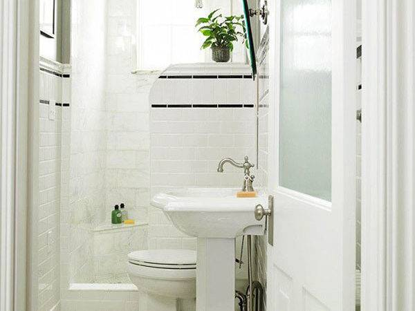 White Luxury Small Bathroom Ideas Kvriver