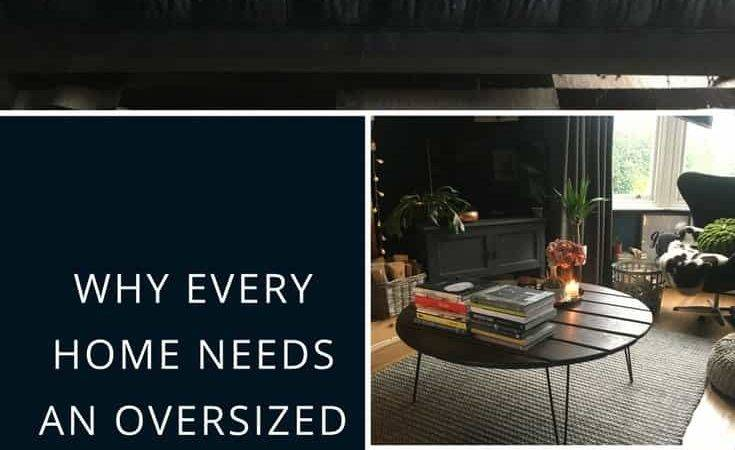 Why Every Home Needs Oversized Coffee Table Kerry