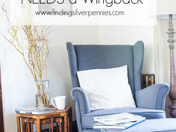 Why Every Home Needs Wingback Chair Finding Silver Pennies