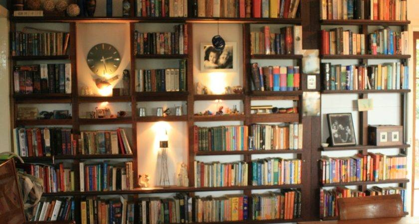 Wide Eyed Our Bookshelf Wall