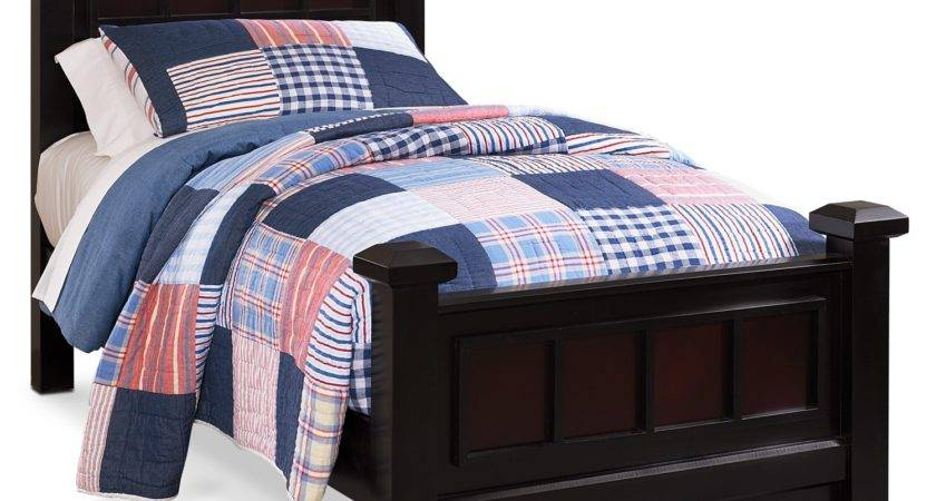 Winchester Twin Bed Ebony Value City Furniture