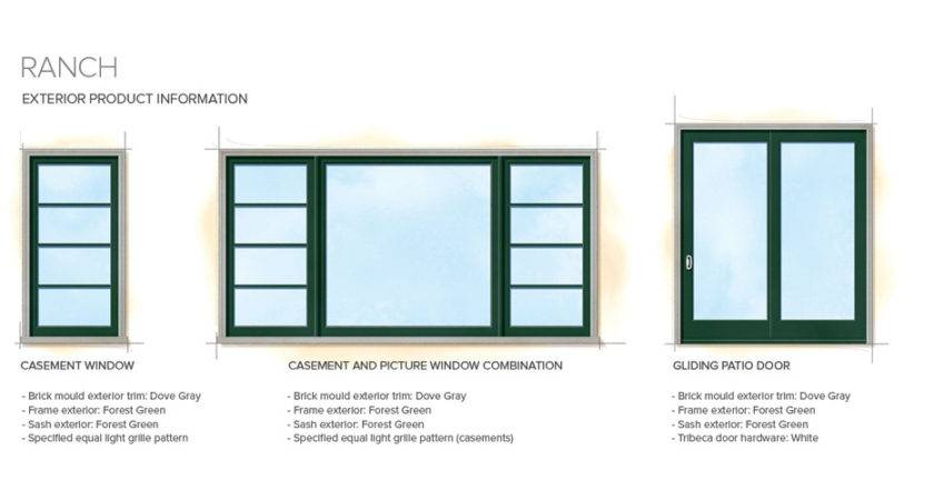 Window Style Craftsman Bungalow Home Styles