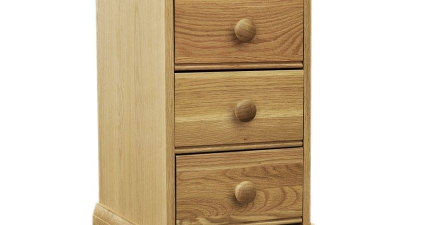 Windsor Oak Drawer Narrow Bedside Furniture Solutions