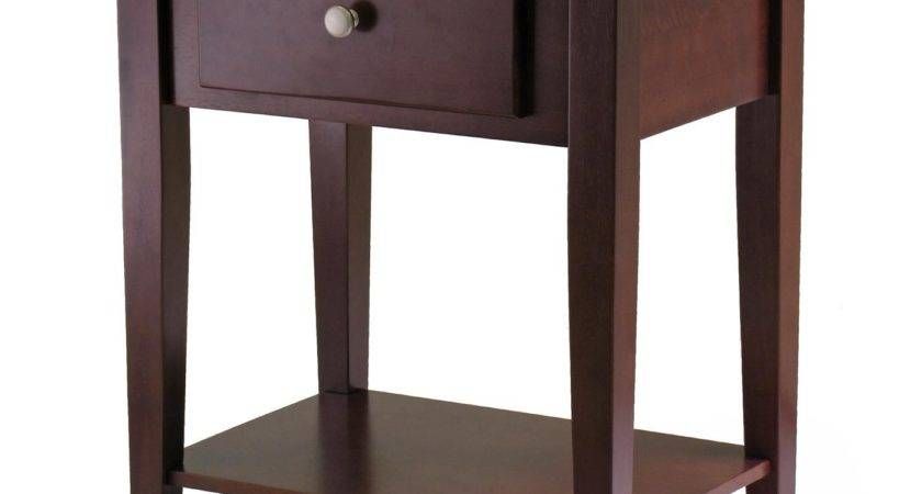 Winsome Shaker Night Stand Drawer Commerce