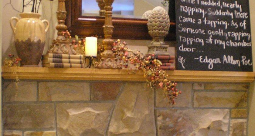 Wip Blog Autumn Mantel Decor Ideas
