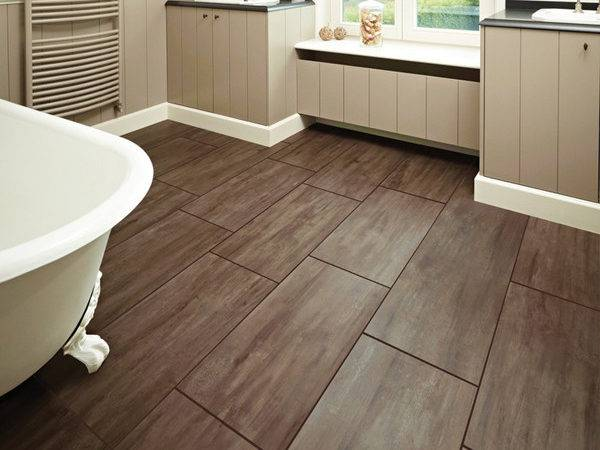 Wood Bathroom Floor Ideas Home Design Interior