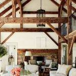 Wood Beam Ceiling Ideas Touch Rustic Charm