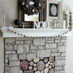 Wood Fireplace Cover Trgn