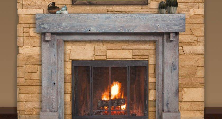 Wood Mantel Fireplace Lincoln Inch