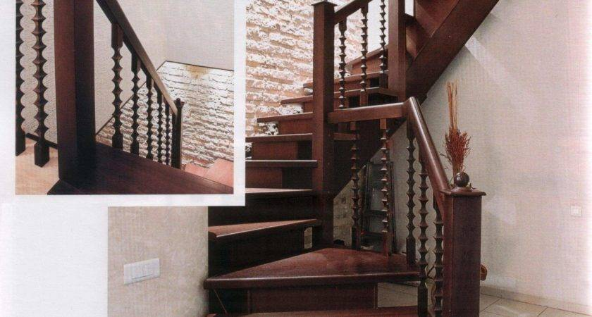 Wood Staircase Home Interiors Stylish Designs