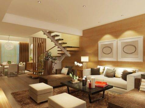 Wood Wall Fence Furniture Living Room