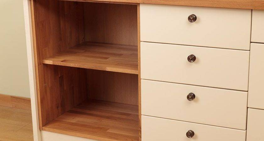 Wooden Kitchen Base Cabinets Units Solid Wood