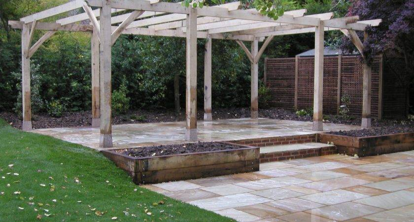 Wooden Pergola Glass Roof Decor References