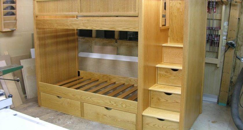 Woodworking Plans Bunk Beds Stairs