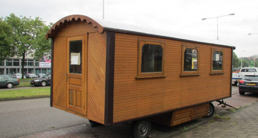Woonwagentje Amsterdam Sale Very Small Mobile Home