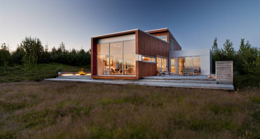 World Architecture Modern Home Nature Iceland