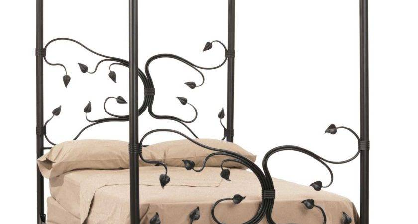 Wrought Iron Eden Isle Canopy Bed Timeless