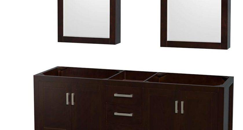Wyndham Collection Sheffield Double Vanity Cabinet