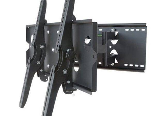 Xhome New Wall Mount Bracket Dual Arm Secure Low