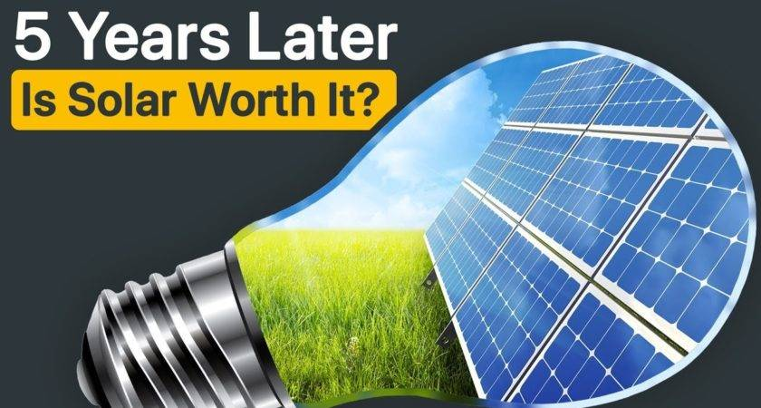 Years Examination Solar Panels Return Investment