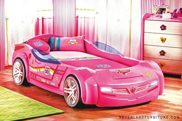 Young Girl Bed Shape Car Furniture Sale
