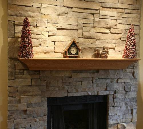 Your New Stone Fireplace Without Mortar Joints