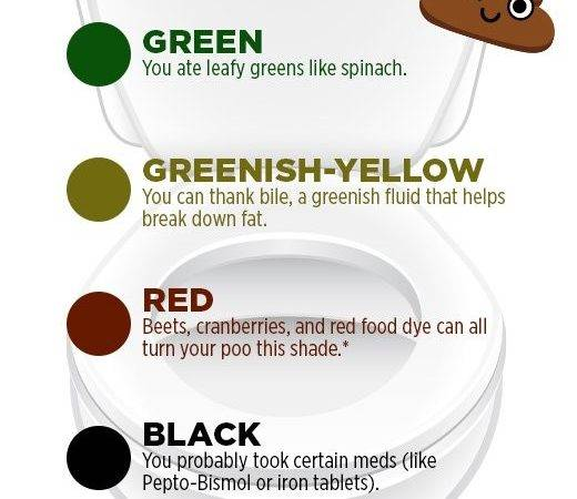 Your Poop Color Says Health Women